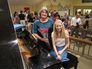 Recital May 2013